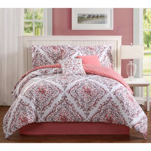 Perla 7 Piece Reversible Comforter Set