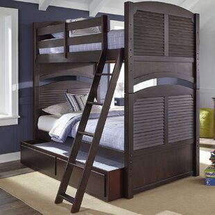 Newberry Full Bunk Bed with Storage by Harriet Bee