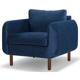 Modern Blue Accent Chairs Allmodern