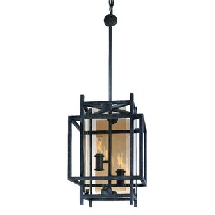 Pascal 2-Light Square/Rectangle Pendant by 17 Stories