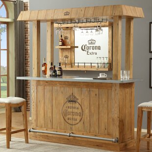ECI Furniture Corona Canopy Bar with Wine Storage