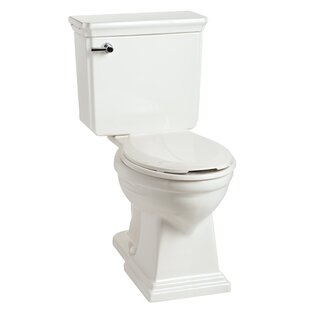 Mansfield Plumbing Products Brentwood HET SmartHeight 1.28 GPF Elongated Two-Piece Toilet Image