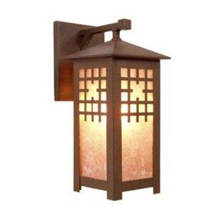 Steel Partners San Marcos 1-Light Outdoor Wall Lantern