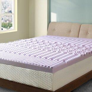 Find the perfect Ida 5-Zone 3 Memory Foam Mattress Topper ByAlwyn Home