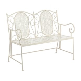 Axl Steel Bench By Lily Manor