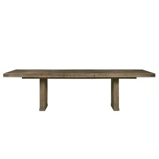 Gianna Solid Wood Dining Table Bayou Breeze