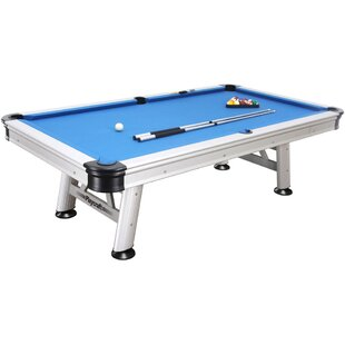 Extera Outdoor 8.3' Pool Table with Playing Equipment By Playcraft