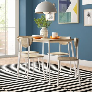 Rosalie Dining Set With 4 Chairs By Zipcode Design