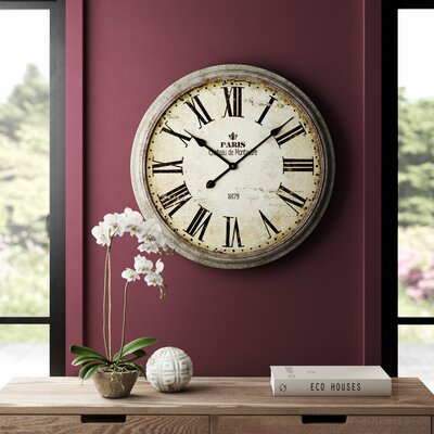 Beige Wall Clocks You Ll Love In 2020 Wayfair