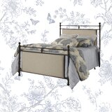 Broughton Upholstered Low Profile Standard Bed by Kelly Clarkson Home