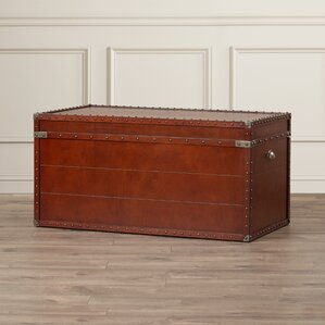Perth Trunk Coffee Table by Three Posts