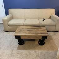 Williston Forge Deon Wheel Coffee Table Reviews Wayfair