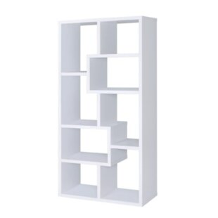 Tilghman Geometric Bookcase by Wrought Studio
