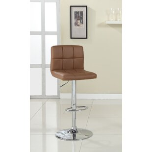 Buy luxury Pure Adjustable Height Swivel Bar Stool by Hokku Designs Reviews (2019) & Buyer's Guide