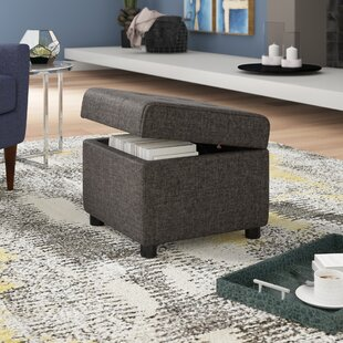 Burritt Storage Ottoman by Wade Logan