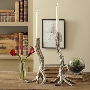 Tree Branch Candlesticks Set Of 2