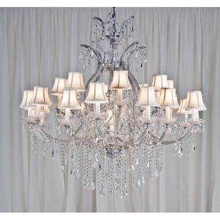 Astoria Grand Alvarado 24-Light Empress Shaded Chandelier