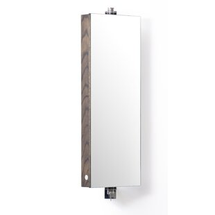 Belinda 26cm X 71cm Surface Mount Mirror Cabinet By Belfry Bathroom