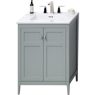 Briella 24 Single Bathroom Vanity Base