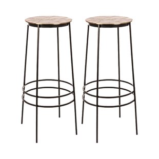 Galvan Bar Stool (Set Of 2) By Bloomsbury Market