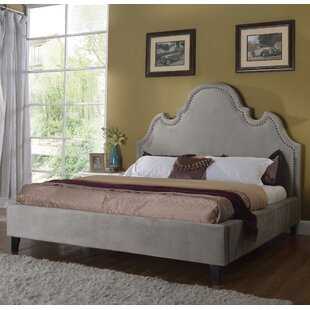 Upholstered Platform Bed by BestMasterFurniture Reviews
