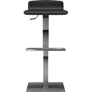 Coupon Messina Adjustable Height Bar Stool by Modloft Black Reviews (2019) & Buyer's Guide