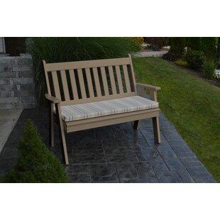 Hemby Plastic Garden Bench