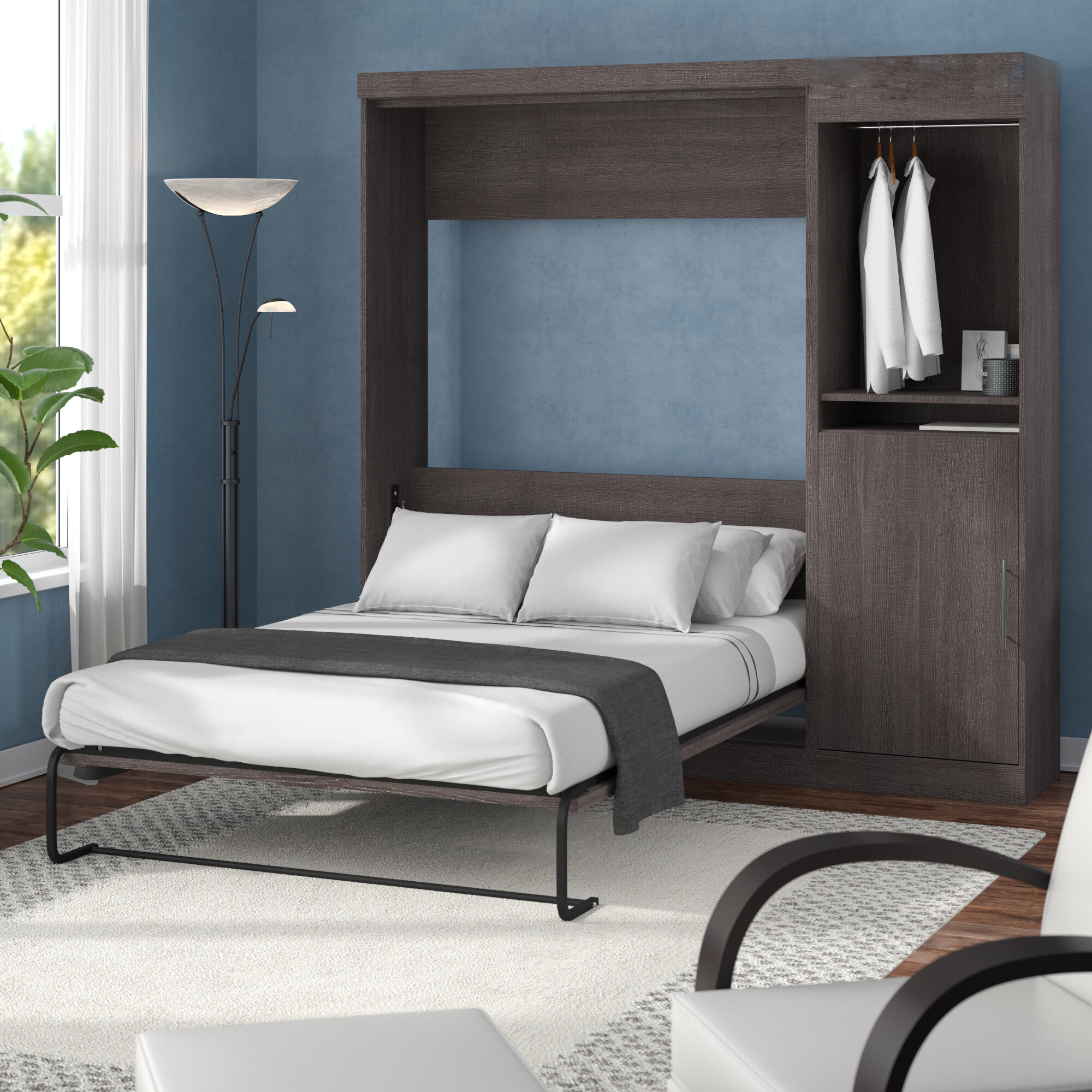 0eac5e797 Brayden Studio Truett FullDouble Murphy Bed   Reviews