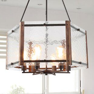 Brownville 6-Light Drum Chandelier by Fou..