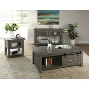 Gracie Oaks Darley 3 Piece Coffee Table Set