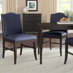 Pencewood Upholstered Dining Chair by Charlton Home