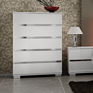 Savings Live 5 Drawer Lingerie Chest by At Home USA