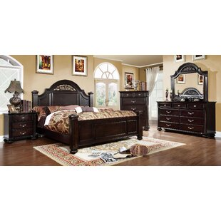 Rhode Panel Configurable Bedroom Set