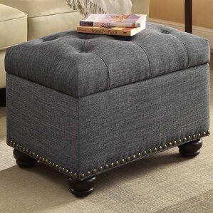 Gray Ottomans Poufs Youll Love Wayfair