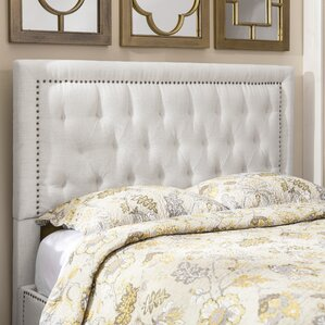 djibril square upholstered panel headboard - Headboard Of Bed