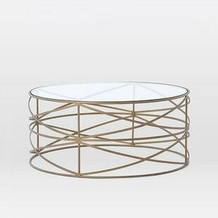 Orren Ellis Lazarescu Stripes Coffee Table
