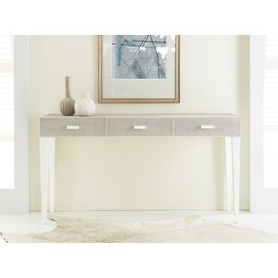 Shagreen 3 Drawer Console Table