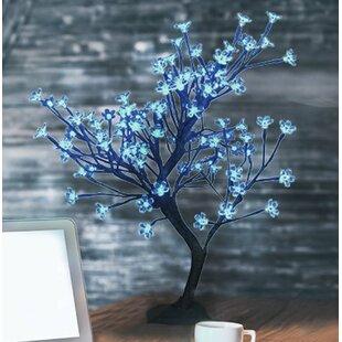 Hi-Line Gift Ltd. Floral 96 LED Light Bonsai Tree