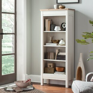 Savings Gilmore Standard Bookcase Rosecliff Heights