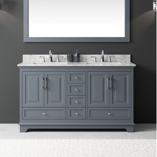 Affordable Price Orin 60 Double Bathroom Vanity Set By Rosecliff Heights