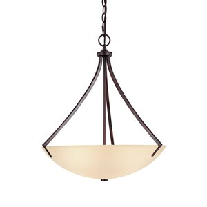 Brickyard 3-Light Inverted Pendant