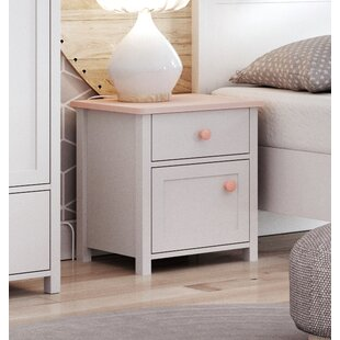 Herlufsholm 1 Drawer Nightstand by Viv   Rae