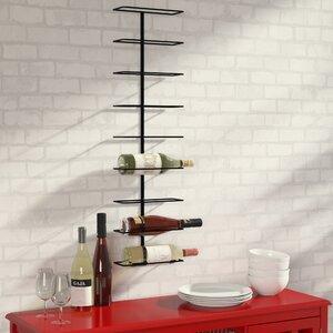 Paige 9 Bottle Wall Mounted Wine Rack