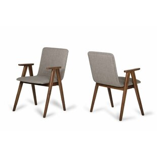 Nikhil Upholstered Dining Chair (Set of 2) George Oliver