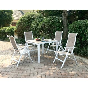 Winston Porter Nevaeh 5 Piece Dining Set