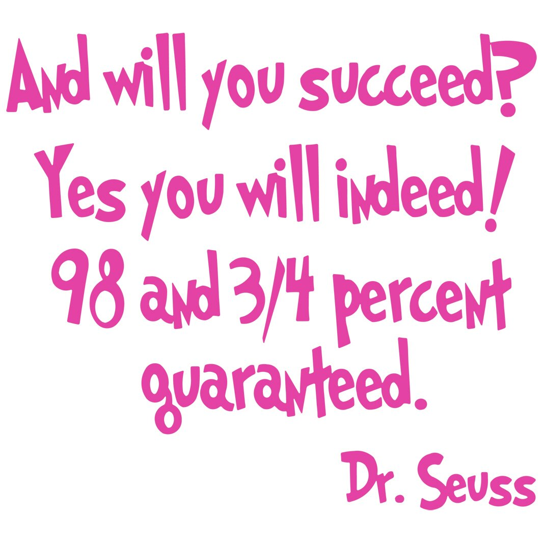 Vwaq And Will You Succeed Yes You Will Indeed Dr Seuss Wall Decal Reviews Wayfair