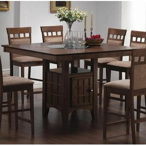 counter height dining room sets. Melvin 7 Piece Counter Height Dining Set Sets You ll Love  Wayfair