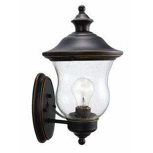 Reviews Eugenie 1-Light Outdoor Sconce By Charlton Home