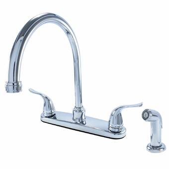 Brushed Nickel Kingston Brass KS2498PL Governor Bar Faucet Without Pop-Up 5-Inch