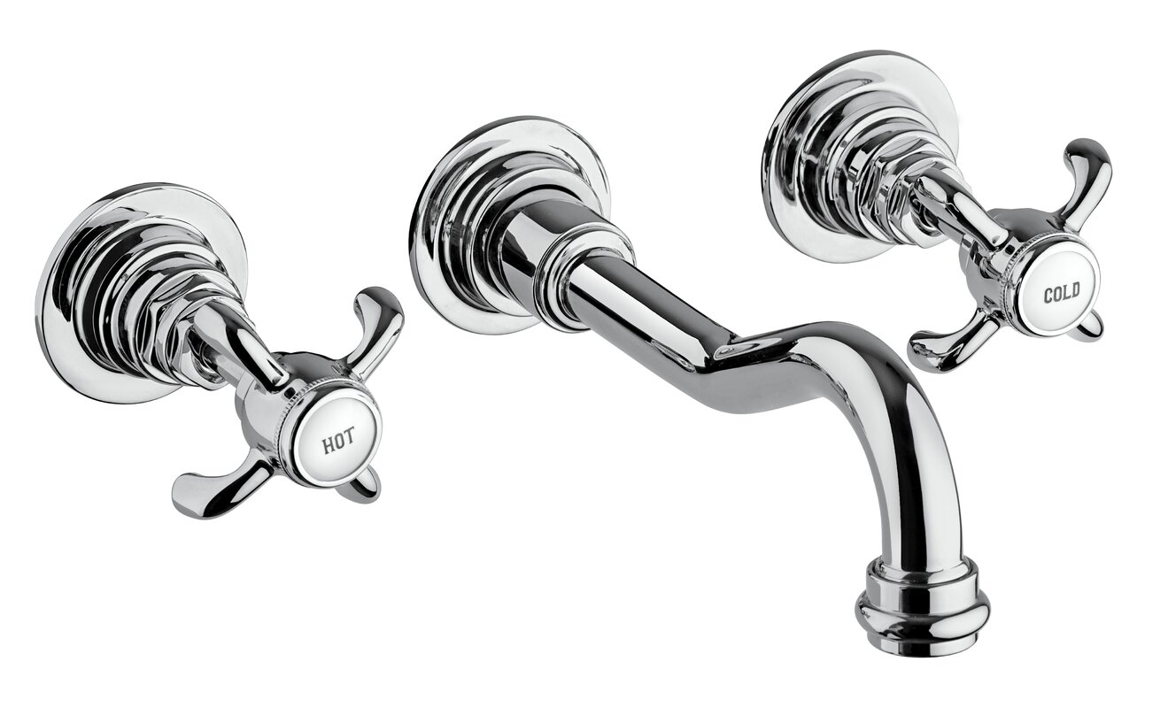 LaToscana Ornellaia Wall Mounted Bathroom Faucet & Reviews | Wayfair